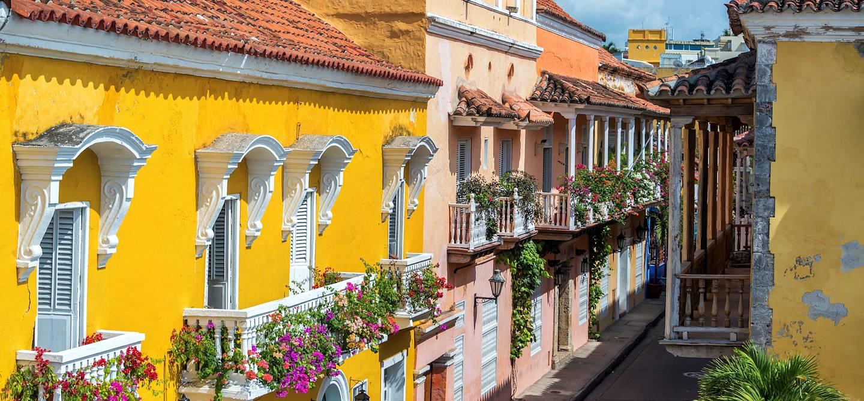 Dans les rues de Carthagène - Colombie