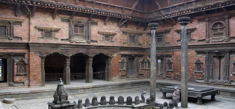 Durbar Squar à Patan - district de Lalitpur - Népal