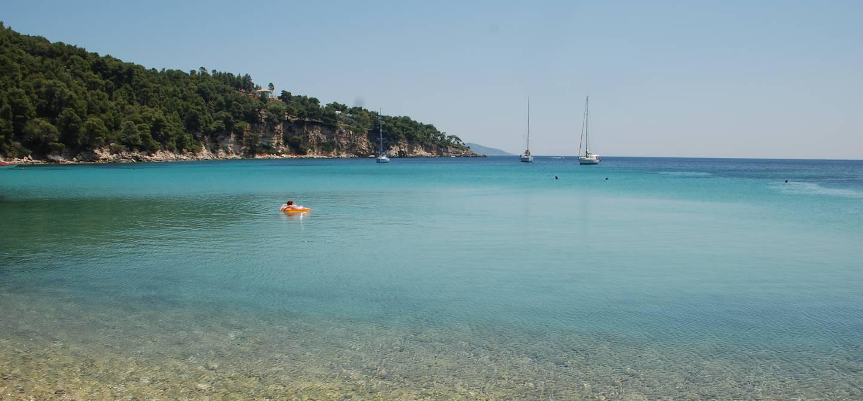 Vue d'une plage d'Alonissos - Sporades - Grèce