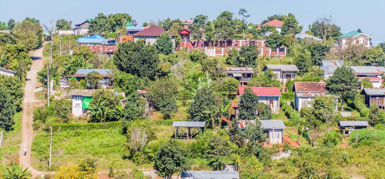 Ville de Kalaw - État Shan - Birmanie