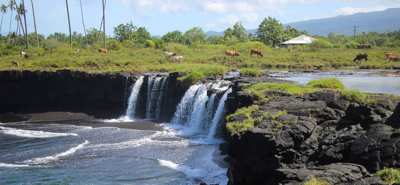 Cascades de Mu Pagoa - Savaii - Samoa