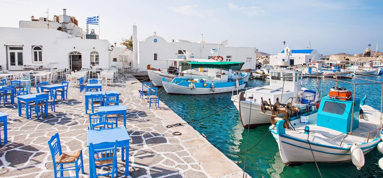 Port de Naoussa - Ile de Paros - Cyclades - Grèce