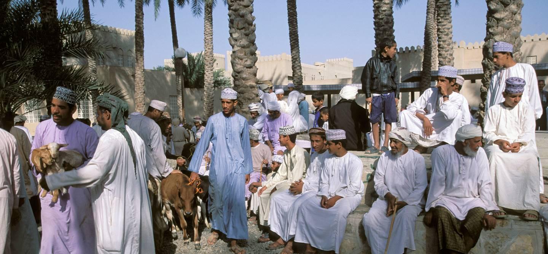 Marché aux bestiaux de Nizwa