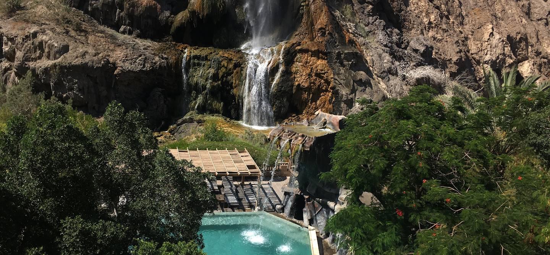 Ma'in Hot Springs - Madaba- Jordanie