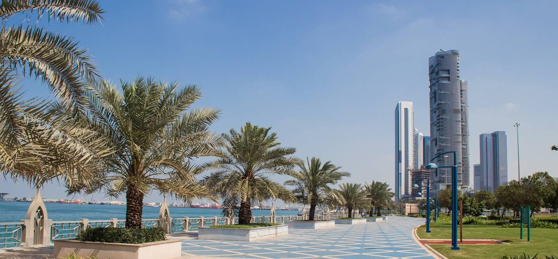 Corniche Abu Dhabi - Émirats arabes unis