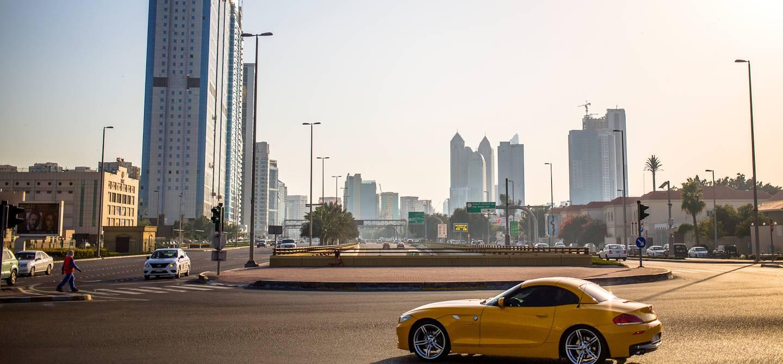 Paysage urbain de la capitale - Abou Dhabi - Emirats Arabes Unis