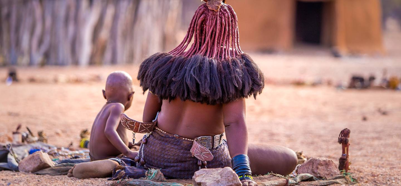 Village Himba - Kaokoland - Namibie