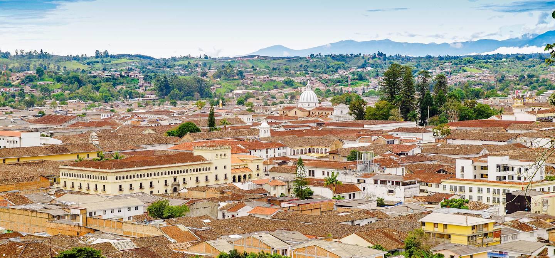 La cité blanche de Popayan - Cauca - Colombie