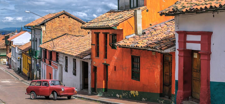 Quartier de La Candelaria - Bogota - Colombie