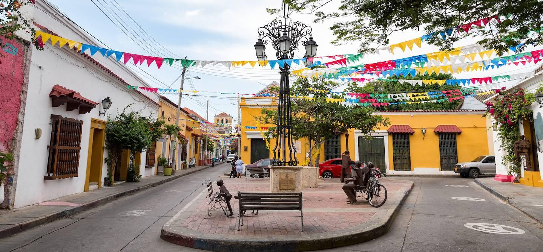 Quartier de Getsemani - Carthagène - Colombie