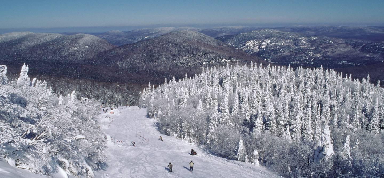 Laurentides en hiver - Québec - Canada