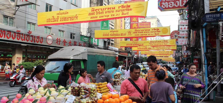 Quartier de chinatown - Bangkok - Thaïlande