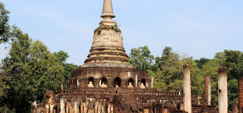Temple Wat Chang Lom - Sri Satchanalai - Thaïlande