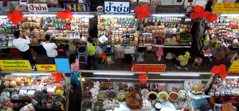 Marché Talat Warorot - Chiang Mai - Thaïlande
