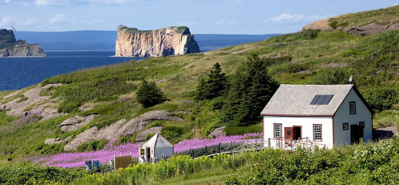 Percé et le Rocher-Percé - Québec - Canada