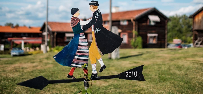 Girouette - Tallberg - Comté de Dalécarlie - Suède