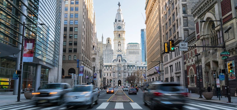 Dans les rues de Philadelphie - Pennsylvanie - Etats-Unis