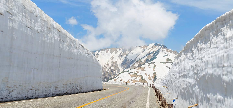 Route alpine - Japon