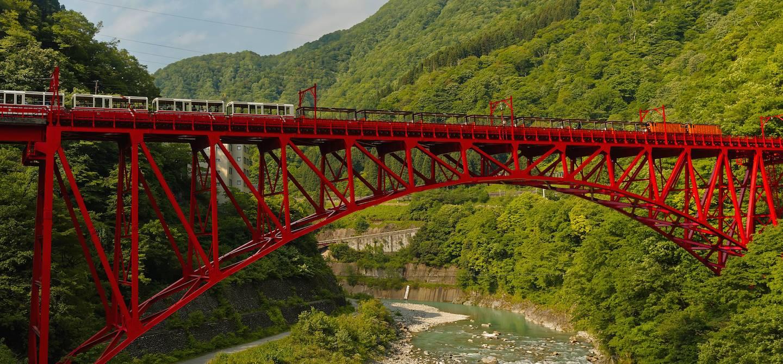 Gorges de Kurobe - Japon