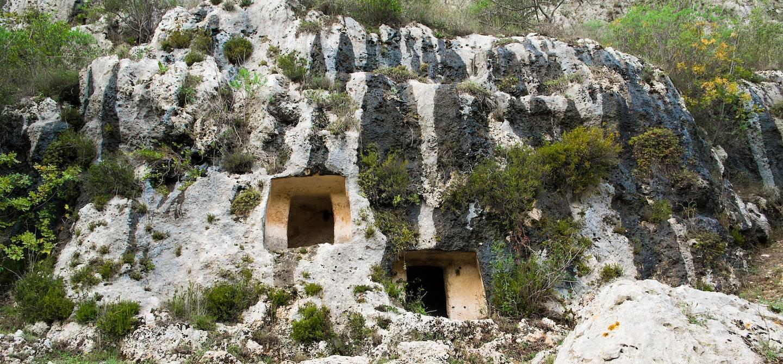 Nécropole de Pantalica - Sicile - Italie