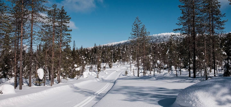 Safari en motoneige - Syote - Laponie - Finlande