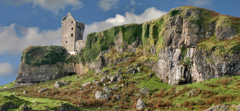 Château de Gylen - Kerrera - Ecosse - Royaume-Uni