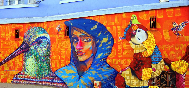 Street art à Valparaiso - Chili