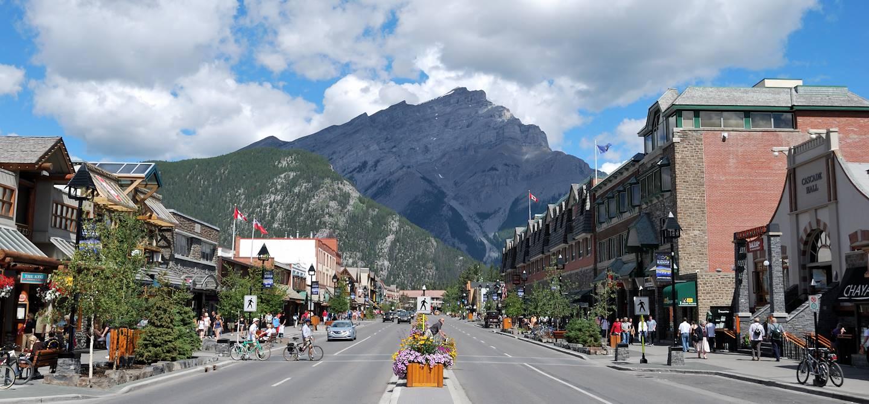 Banff - Les Montagnes Rocheuses canadiennes - Alberta - Canada