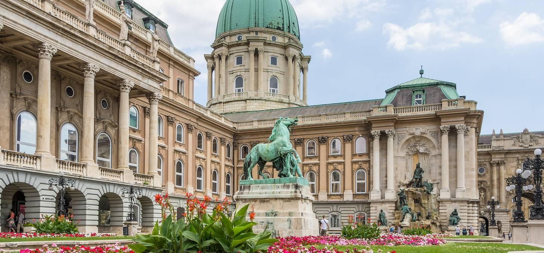 Palais royal de Buda - Budapest - Hongrie