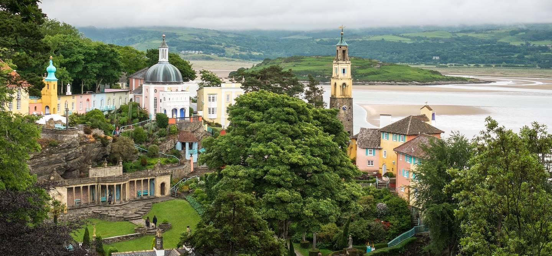 Portmeirion - Gwynedd - Pays de Galles