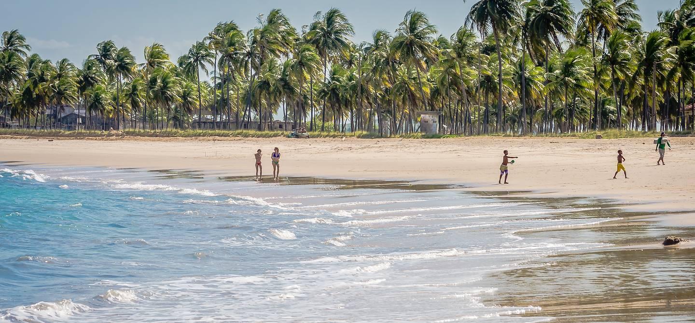 Promenade sur la plage - Porto de Galinhas - Pernambuco - Brésil