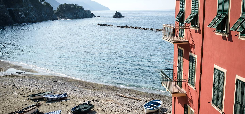 Plage à Monterosso al Mare - Cinque Terre - Ligurie - Italie