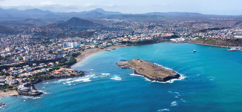 Panorama sur Praia - île de Santiago - Cap-Vert