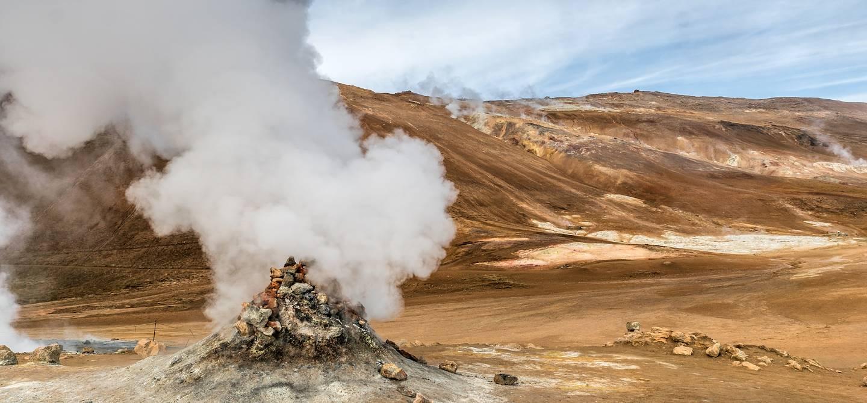 Solfatare - Islande
