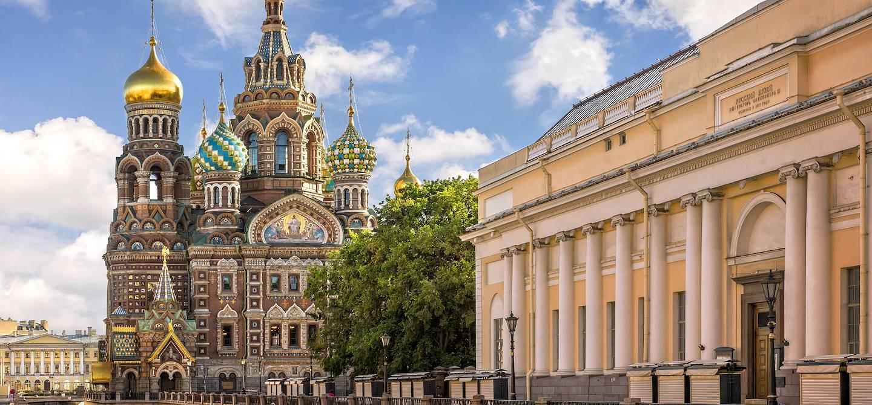 Cathédrale Saint Sauveur sur le sang versé - St Petersbourg - Russie