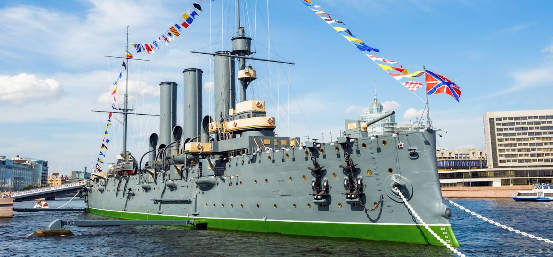 Croiseur Aurore - Saint Pétersbourg - Russie