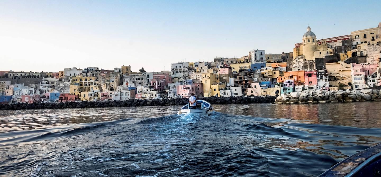 Sortie avec les pêcheurs de l'île de Procida - Procida - Campanie - Italie