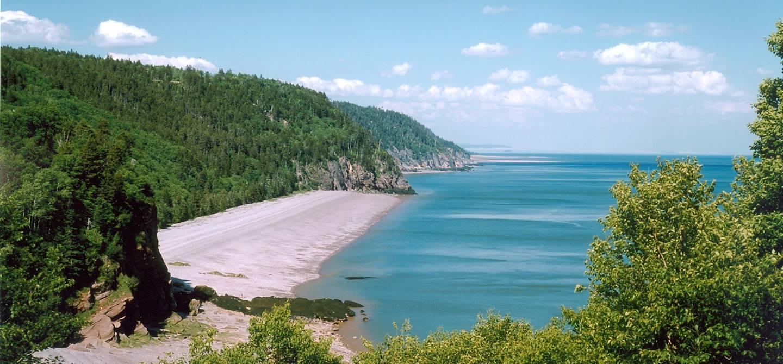 Baie de Fundy - Nouveau-Brunswick - Canada
