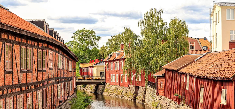 Rives de la rivière Svartan - Västerås  - Suède