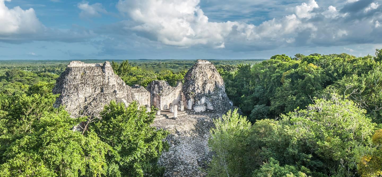Ruines de Becan - Yucatan - Mexique