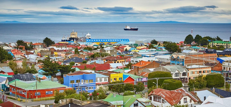 Ville portuaire de Punta Arenas - Magallanes - Chili