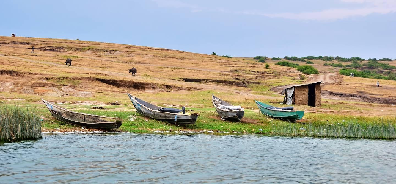 Lac Édouard - Parc National Queen Elisabeth - Ouganda