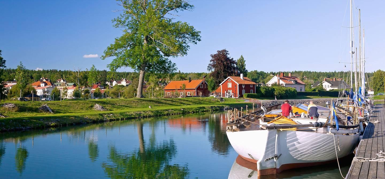Canal Göta - Comté d'Ostergotland - Suède