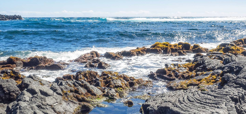 Punaluu Beach - Big Island - Hawaï - Etats-Unis