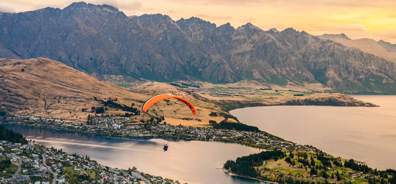 Parapente à Queenstown - Ile du Sud - Nouvelle-Zélande