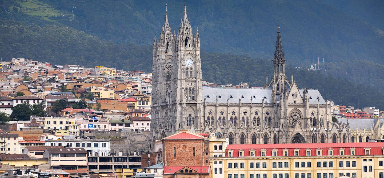 Panorama sur Quito - Province de Pichincha - Equateur