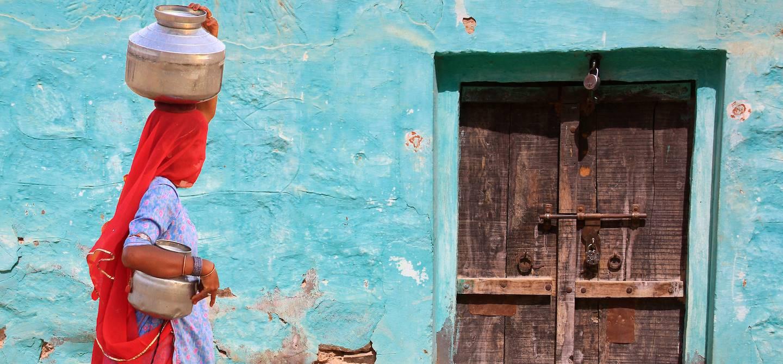 Scène de rue - Rajasthan - Inde