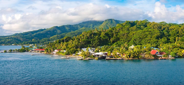 Ile de Raiatea - Archipel de la Société - Polynésie