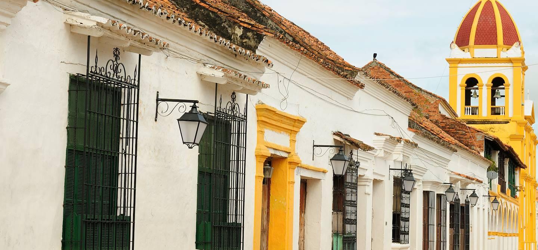 Petites maisons coloniales - Mompox - Colombie
