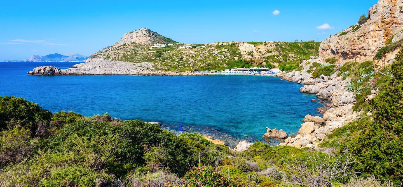 Baie Anthony Quinn - Rhodes - Grèce